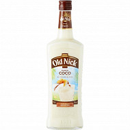 Old nick punch coco cocktail à base de rhum 70cl 16%vol