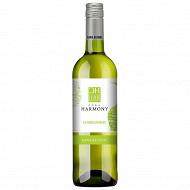 Harmony Chardonnay Boisson Désalcoolisée à Base de Raisin 75cl