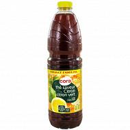 Cora boisson au thé plate citron citron vert 2L