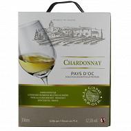 Igp oc chardonnay L'ame du terroir bib 3l 12.5%