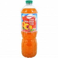 Cora boisson aux fruits pêche abricot pet  2l