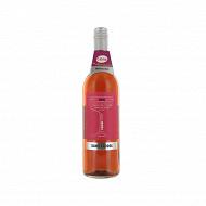 Harmony rosé Boisson fermentée désalcoolisée à base de raisin 75 cl