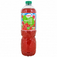 Cora boisson plat fraise framboise 2 l