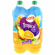 Cora boisson au fruits tropical 4x2l