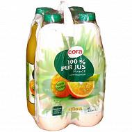 Cora pur jus orange 4x1.5l