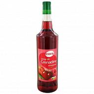 Cora sirop grenadine bouteille 1l