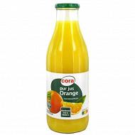 Cora pur jus d'orange bocal 1l