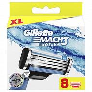 Gillette mach3 lames classic x8