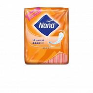 Nana maxi serviettes hygieniques normal x18
