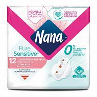 Nana ultra p.sens 12 serviettes normal