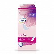 Tena lady protege slips incontinence ultra mini x28