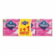 Nana ultra serviettes hygieniques normal plus lot de 2+1offert (3x14)