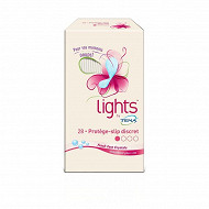 Tena protège-slip incontinence discret lights x28