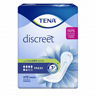Tena lady serviettes incontinence maxi x12