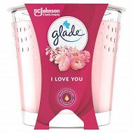 Glade design bougie I love you