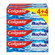 Colgate max fresh dentifrice original 75ml 8pack