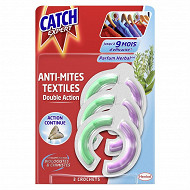 Catch anti-mites double action crochets x3