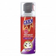 Catch aérosol tous insectes volants et rampants 400ml