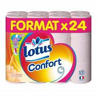 Lotus papier toilette confort aquatube  x24rouleaux