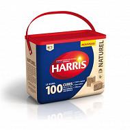 Harris 100 cubes allume feu naturels baril