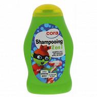 Cora shampooing 2 en 1 pomme poire 250ml