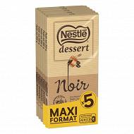 Nestlé dessert noir 5 x 205g maxi format