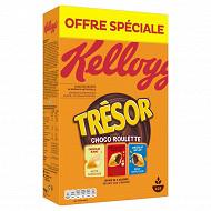 Kellogg's trésor roulettes 750g