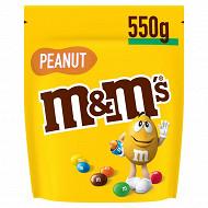 M&M's Peanut bonbon chocolat cacahuète 550g