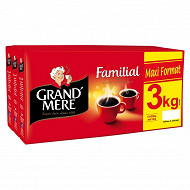 Grand mère cafe moulu familial 3x4x250g