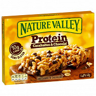 Nature valley barres protein cacahuètes & chocolat 4x40g