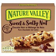 Nature valley Barre de céréales chocolat noir & amandes 150g