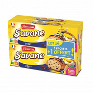 Brossard savane pocket pepites 3 + 1 offert 756g