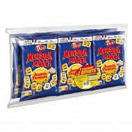 Monster munch jambom / fromage 4+2 offerts 510g