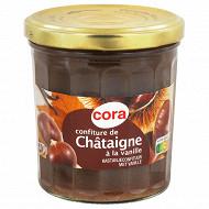 Cora confiture de châtaigne à la vanille 370g