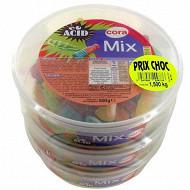 Cora assortiment mix acide lot de 3 x500g