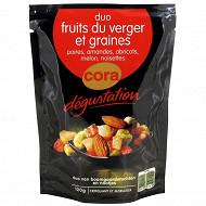 Cora dégustation mélange graines et fruits divers 120g