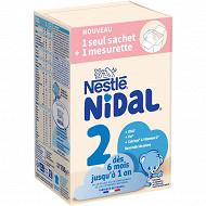 Nidal  dès la naissance bag in box 2x350ml de 6 mois à 1 an