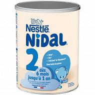 Nestlé nidal 2  800 g boite métal dès 6 mois