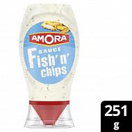 Amora sauce fish'n chips 251g