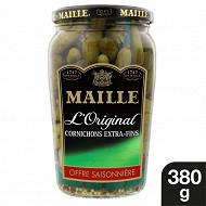 Maille l'original cornichons extra fins offre saisonnière bocal 380g