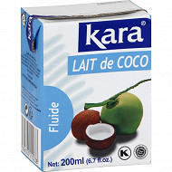 Kara lait de coco 200ml