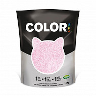 Nullodor litière  color rose 1.8 kg