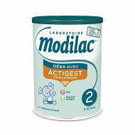 Modilac actigest 2ème âge 800g