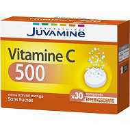 Juvamine vitamine C500 30 comprimés effervescents 77g