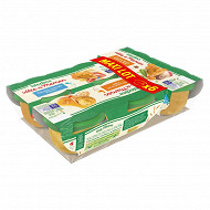 Blédina idées de maman tomates semoule poisson et purée de potirons 6 bols x 200g