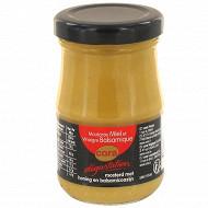 Cora dégustation moutarde au miel et au vinaigre balsamique 105g