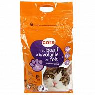 Cora croquettes chat boeuf adulte 7.5kg