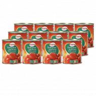 Cora tomates pelées 4/4 480g x12