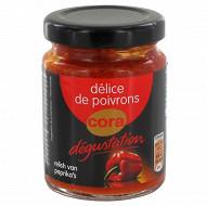 Cora dégustation délice de poivrons 90g