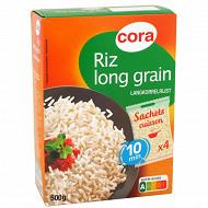 Cora riz long grain 4 x 125g